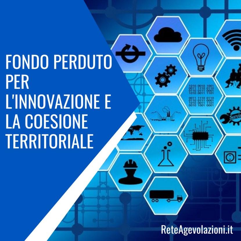 innovazione e coesione territoriale