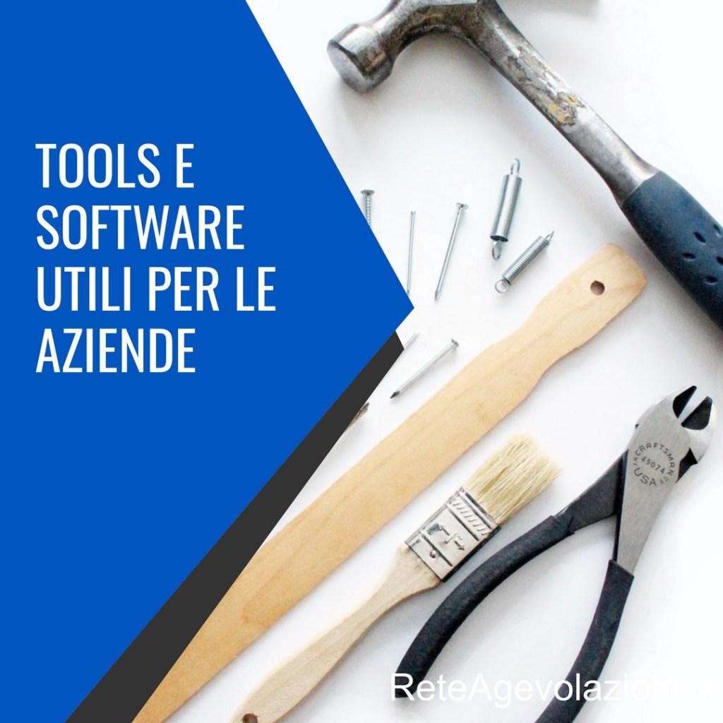 tools e software utili per le aziende