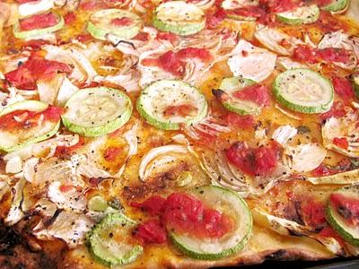 Preparare Reteta video: Pizza vegetariana - de post 1
