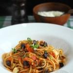 spaghetti alla norma, spaghete a la norma