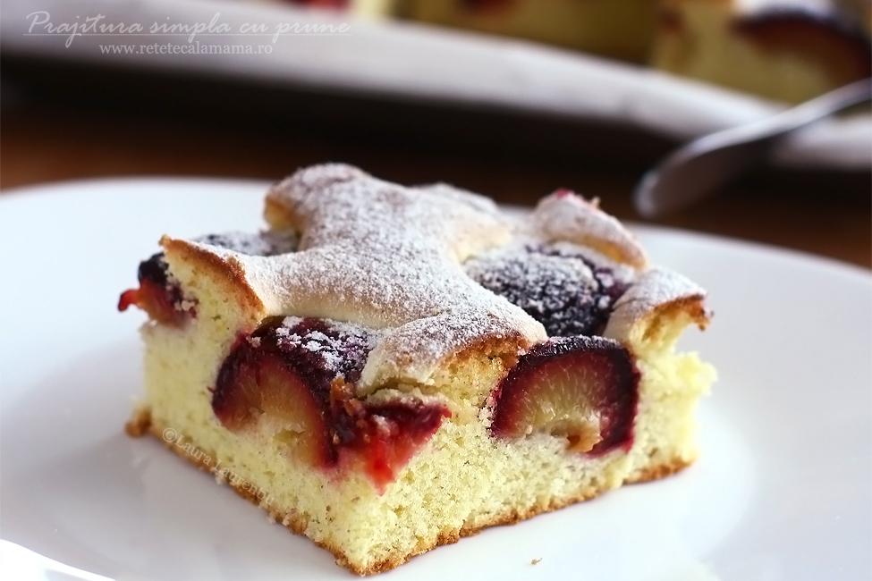 prajitura simpla cu prune reteta laura laurentiu 2