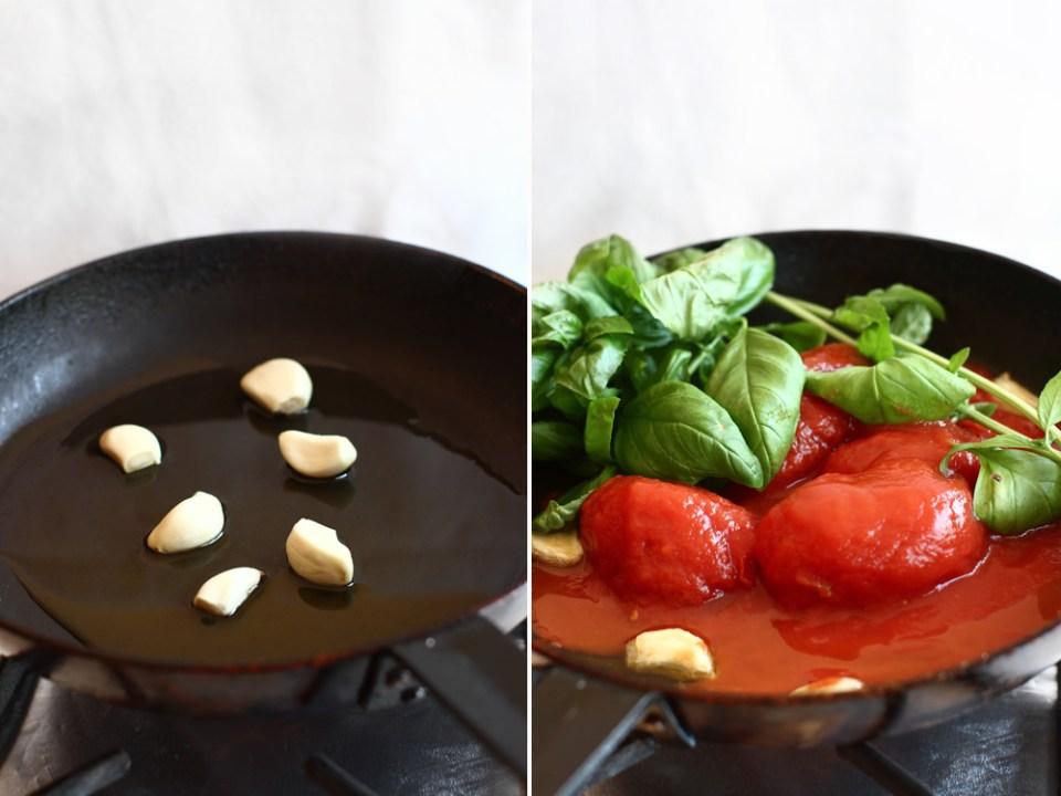 preparare sos de rosii pentru paste 1