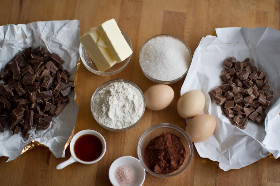 ingrediente brownie, reteta brownie retetecalamamaro
