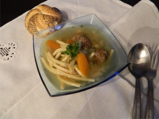 Supa cu perisoare