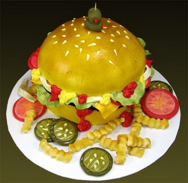 Burger-Cake