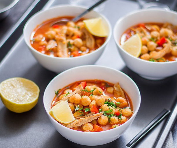 Supa de pui cu naut