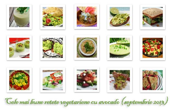 Cele mai bune retete vegetariene cu avocado de pe net (septembrie 2013)