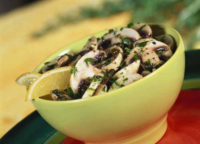 Salata de ciuperci reteta