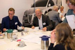 Foto van een vergadering en evenement