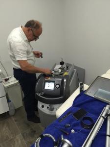 Laser service engineer