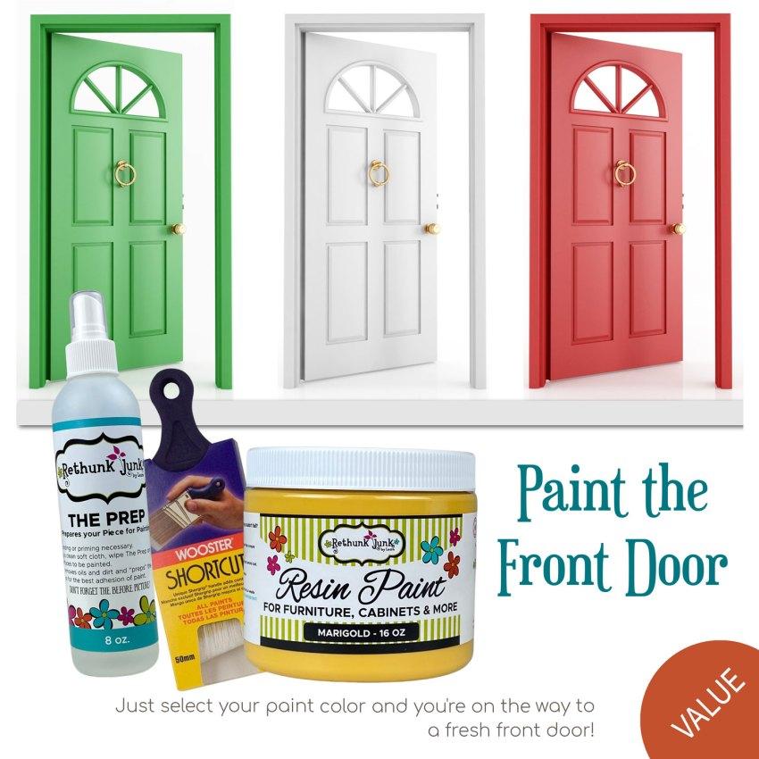 Paint the Front Door