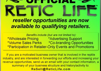 Become an Official Retic Life Re-Seller!