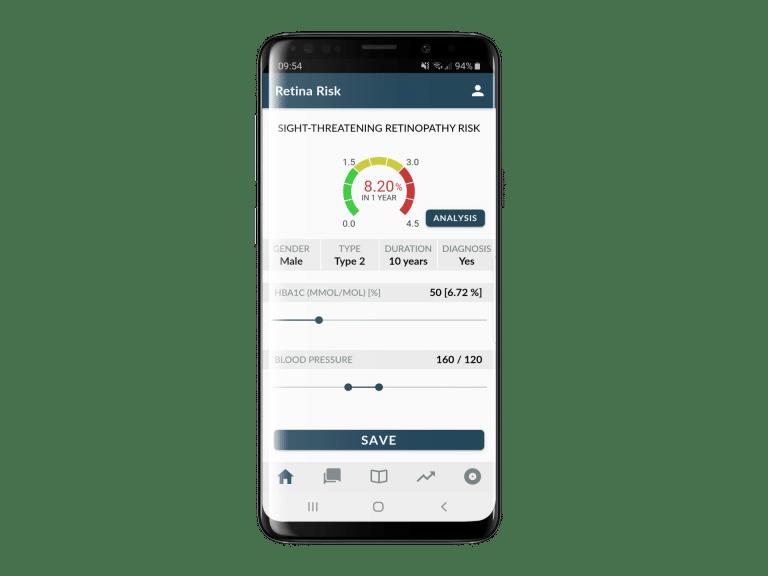 Understanding the RetinaRisk Algorithm & The App Home Screen
