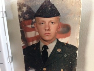My Enlistment Photo