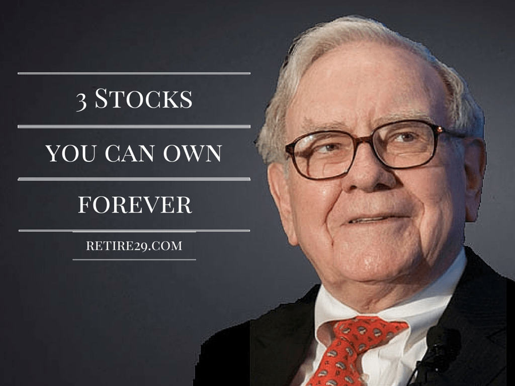 Three Stocks You Can Own Forever