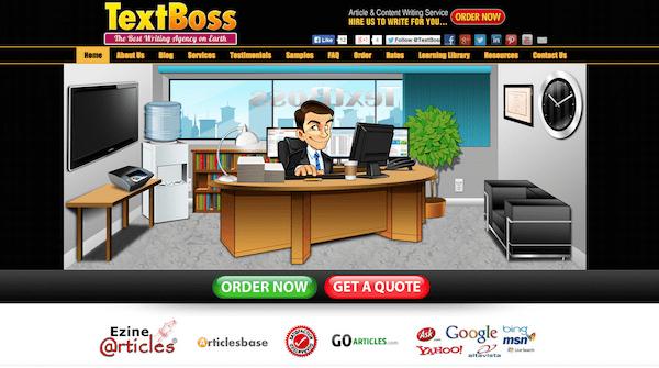 text boss