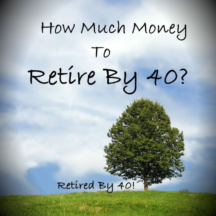 How Much Money Does it Take to Retire By 40?