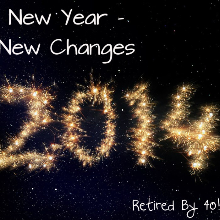 New Year….New Changes!