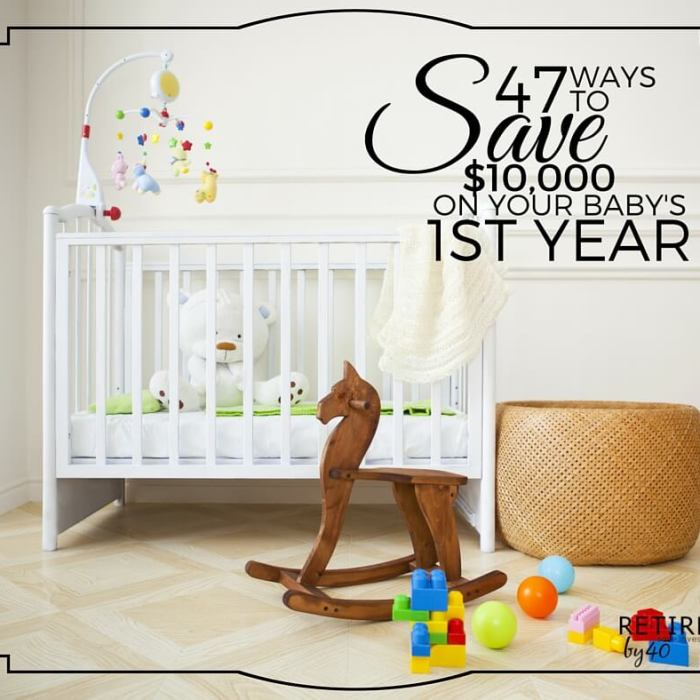 Having a Baby? 47 Ways To Save $10,000 On Your Baby's First Year