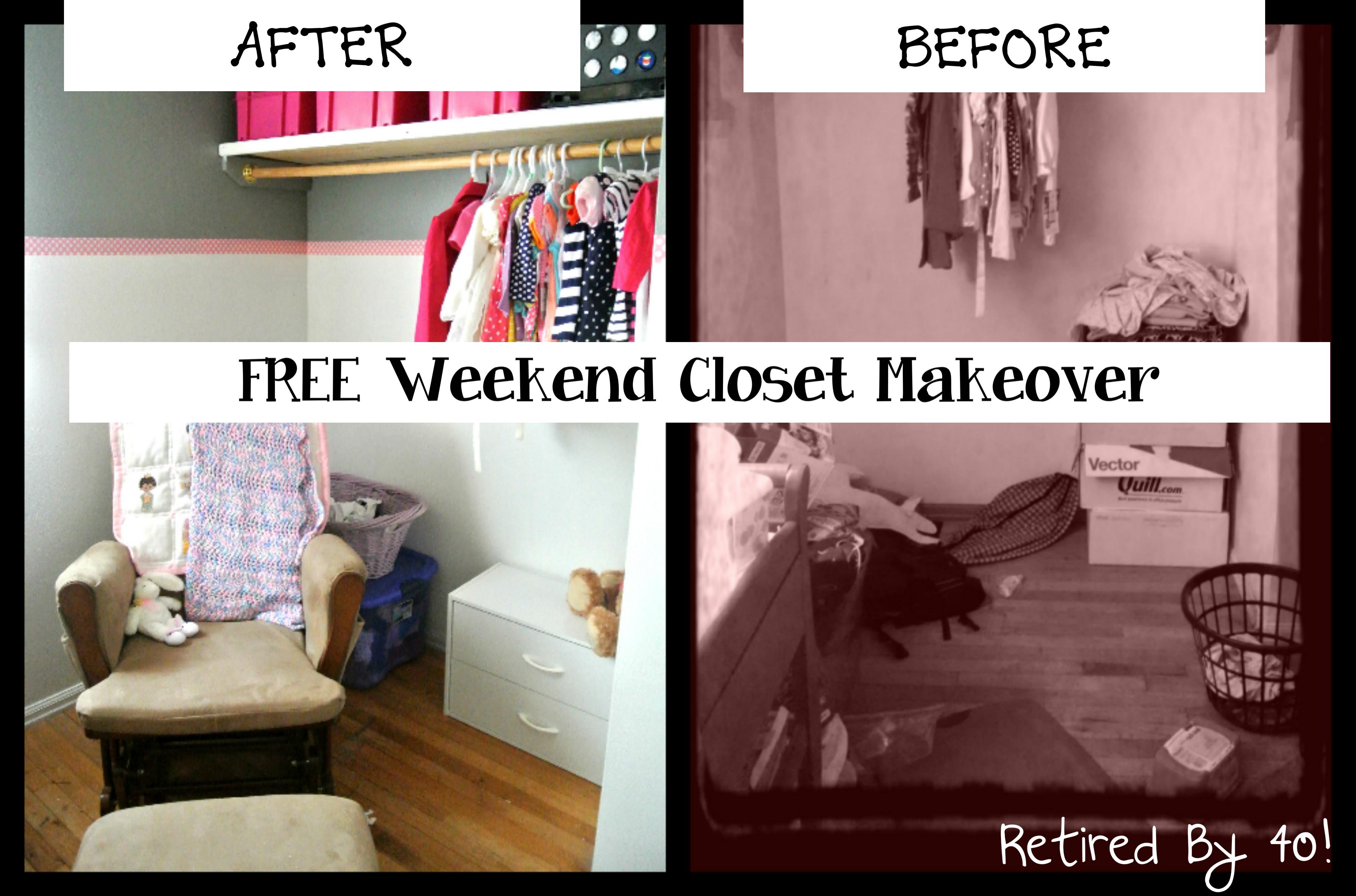 Free Closet Makeover
