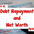 2014 Q1 Debt Repayment and Net Worth Update
