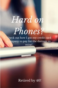 Are You Hard on Phones?  Well so is my husband!  Find out how I actually MADE money when he broke his!