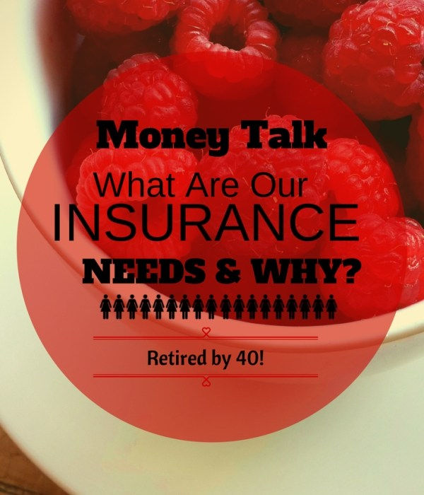 Money Talk: What are Our Insurance Needs and Why?