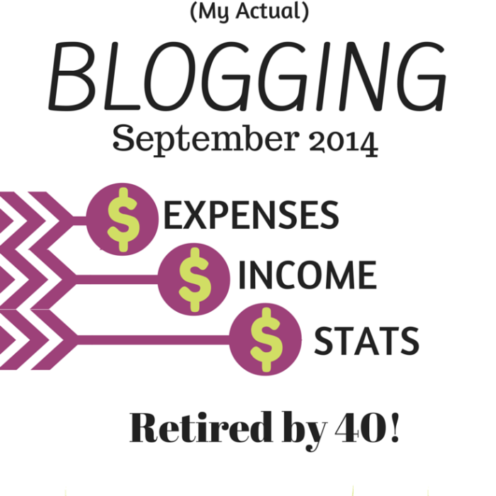 Traffic & Income Report – September 2014 – My Actual Blogging Income