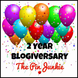 The Pin Junkie Blogiversary Party!