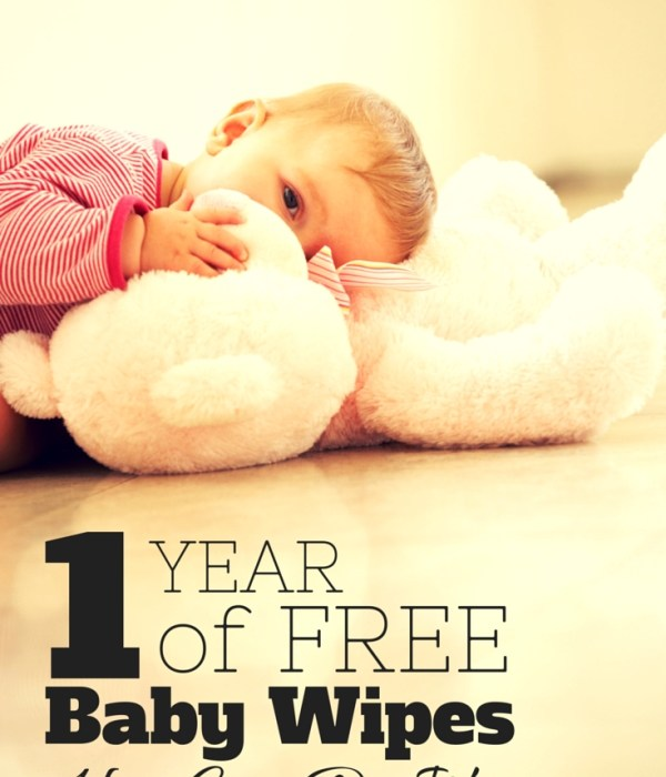 1 Year of Free Baby Wipes