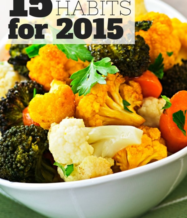 15 Healthy Habits for 2015