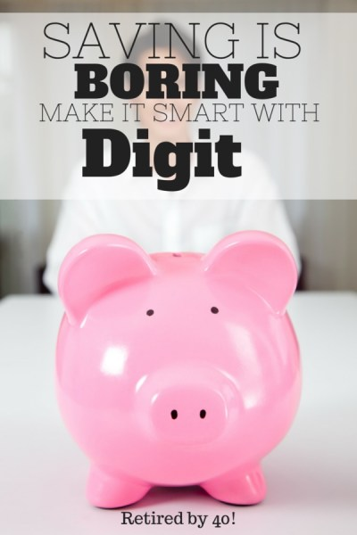 Let's face it: saving is boring.  What is your could make saving so painless, you wouldn't even miss the money?  You can with Digit...