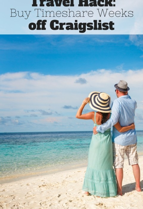 Travel Hack: Timeshares for Cheap!