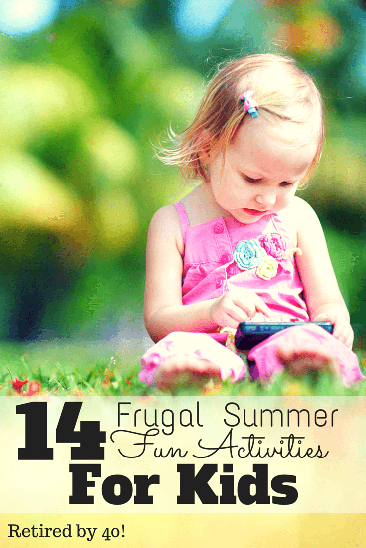 Check out these frugal summer fun activities for kids of all ages!  Keep them entertained the frugal way!