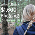 How I Took my blog from making $0 to $1,600 a month in 12 weeks!