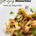 $5 Meal Plan offers unmatched value, flexibility, and understanding - that you are busy and don't have time to meal plan