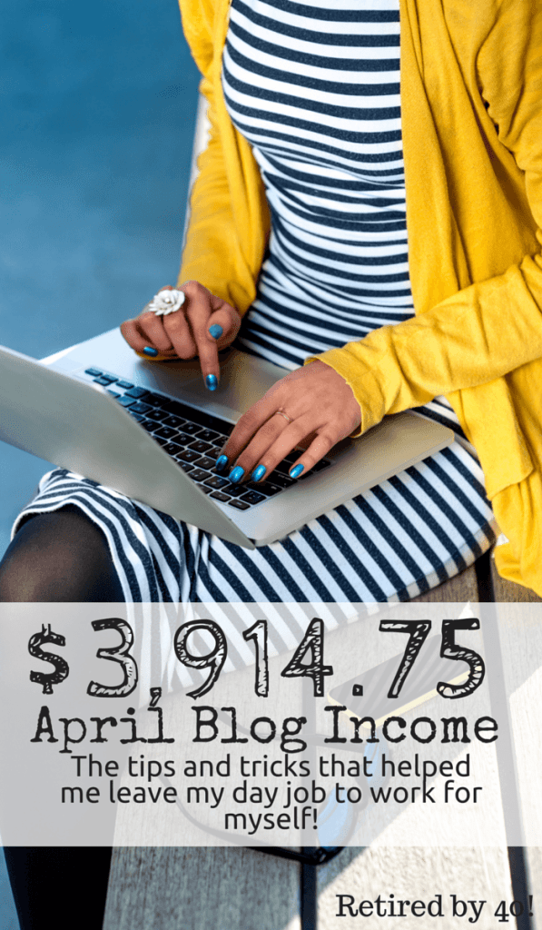 April was an awesome blog income month! I left my day job to work for myself, which presented plenty of challenges, believe me! Plus, I have a cool opportunity for you!