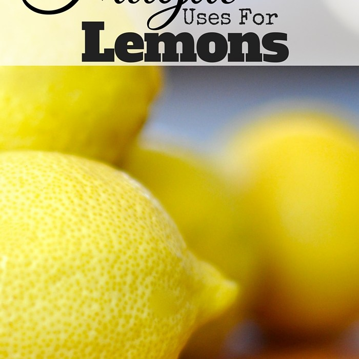 27 Frugal Uses For Lemon