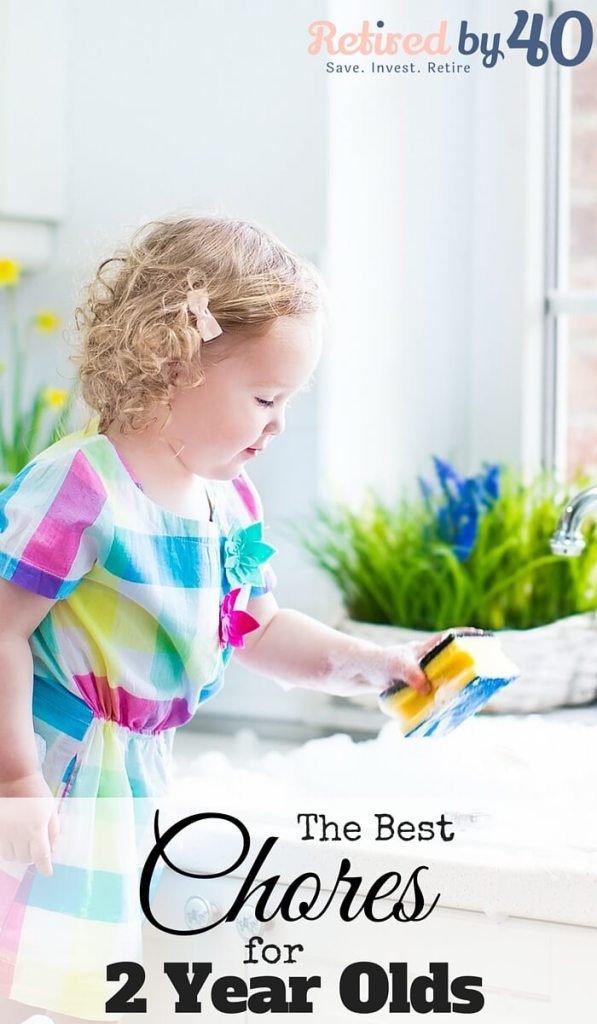 Chores for 2 year olds are so important not only because of the responsibility and obedience they teach, but because children want to feel needed and helpful - and 2 years old is a great place to start!