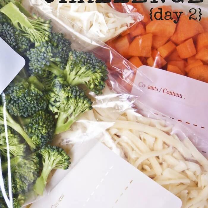 Empty The Freezer Challenge {Day 2}