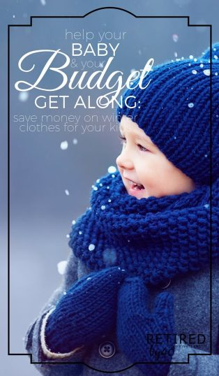 I have trouble dropping serious coin on kids winter clothes, even though they need them, so I'm giving you my 8 best tips save on winter clothes for kids.