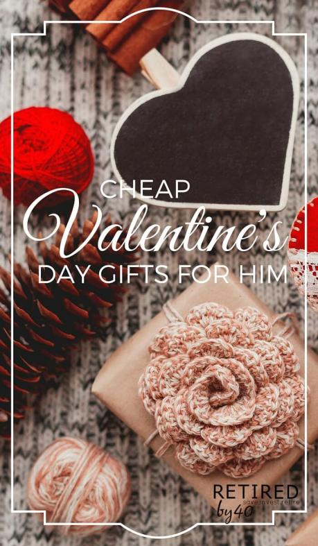 Who says being a cheap date is bad? Check out these cute, cheap Valentine's Day gifts for him.