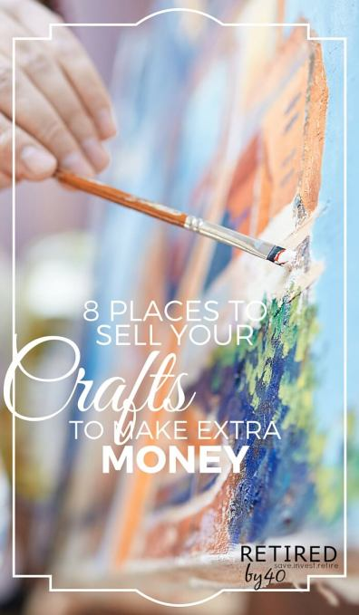 With the demand for handmade and vintage crafts increasing, the number of places to sell crafts online to make extra money or for fun are increasing. Here are my favorites:
