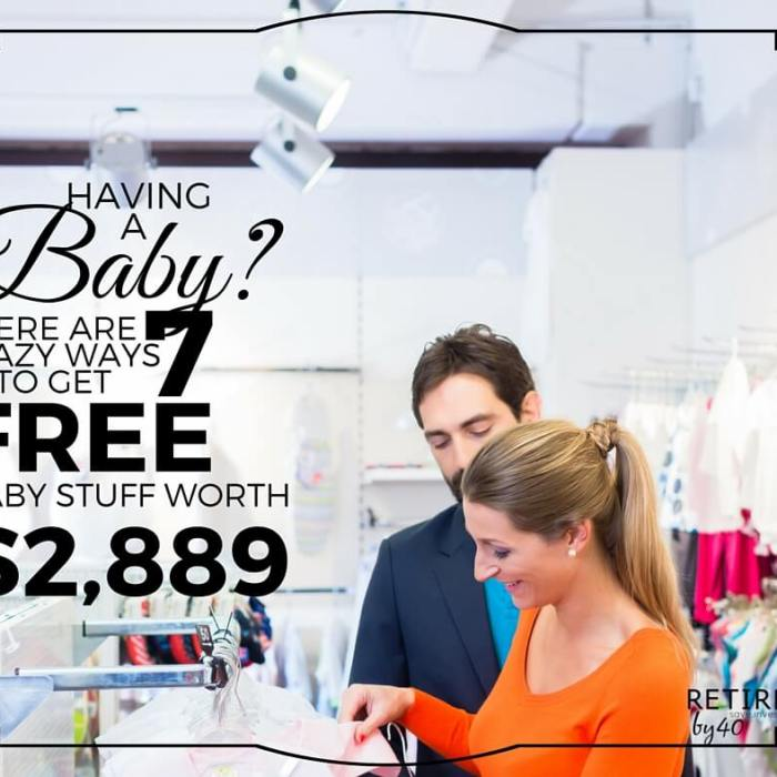 Having a Baby?  Here are 26 Crazy Ways To Get Free Baby Stuff Worth $2,889