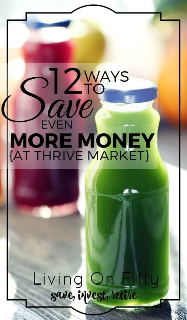 Thrive Market boasts 25% - 50% savings over in-store prices, but can you save more money at Thrive Market?  Spoiler alert: you can!