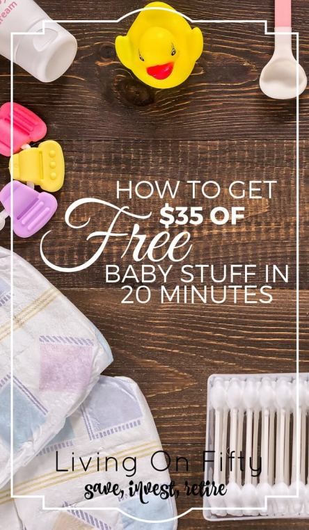 Boy, do I wish I knew about this when I was pregnant! Get $35 in free baby stuff in 20 minutes with this awesome, free, quick tip.