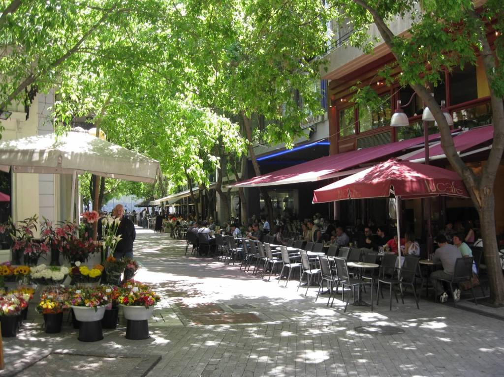 Typical Plaka Street