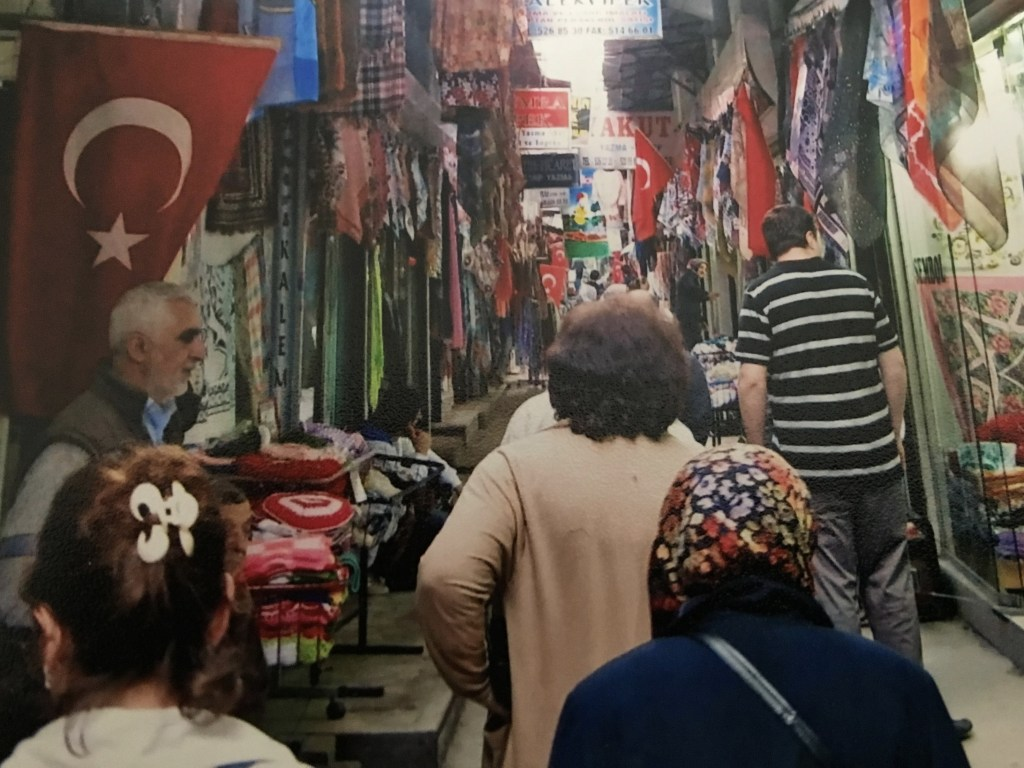 A back street in Istanbul.