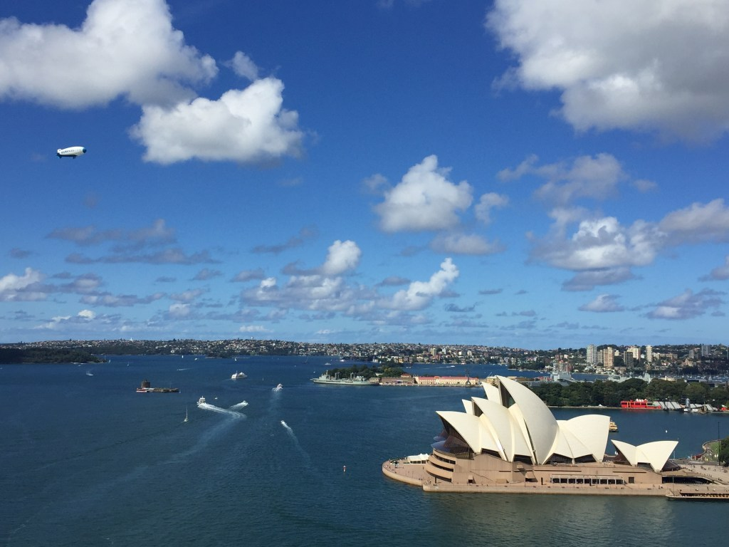 Sydney Opera House From the Bridge