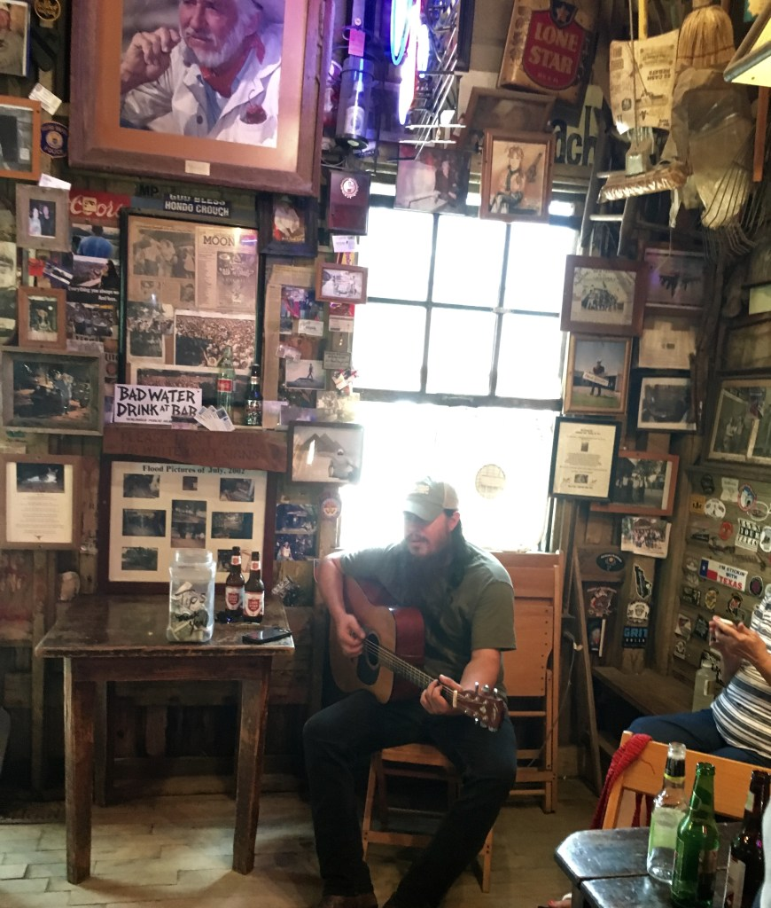"David Harris Singing ""Luckenbach, Texas"""